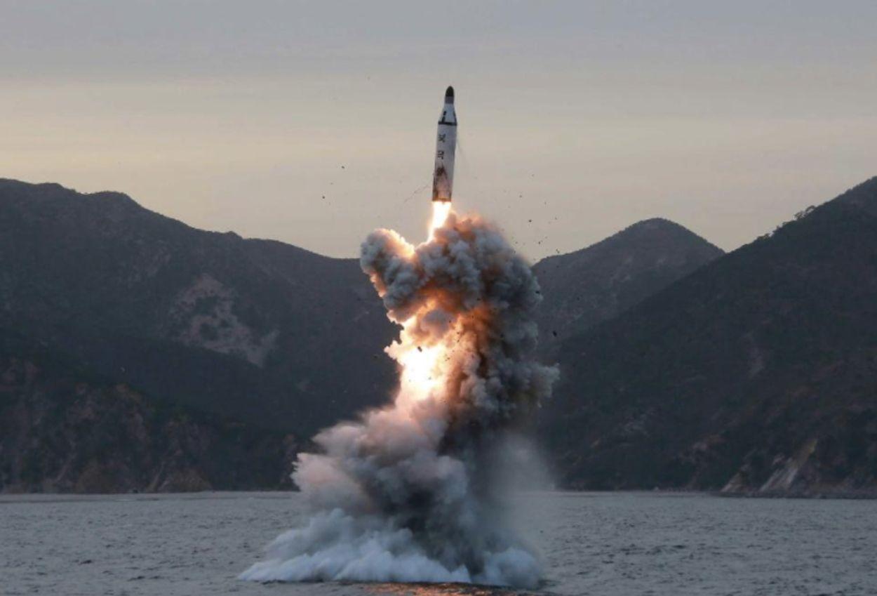 Afbeelding van De laatste rakettest van Noord-Korea lijkt nu wel succesvol