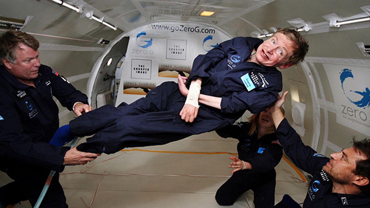 Afbeelding van Stephen Hawkings oplossing voor het klimaatprobleem: verlaat de planeet
