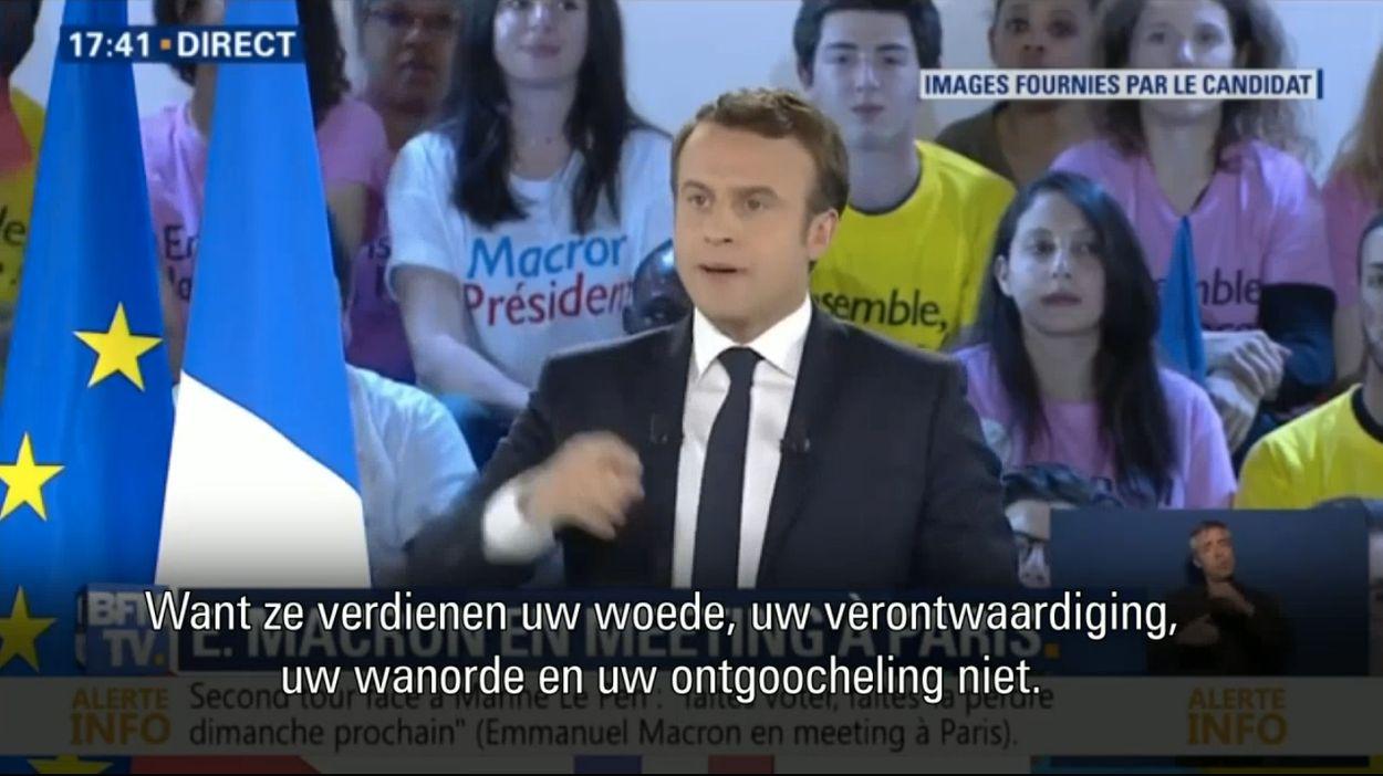 Macron over FN