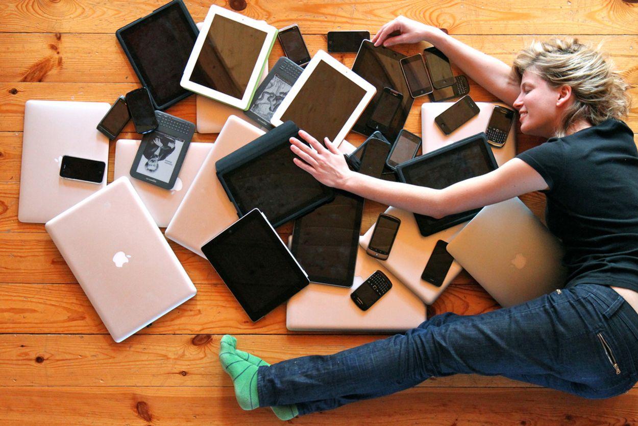 Afbeelding van 'De smartphone dreigt een hele generatie naar de vernieling te helpen'