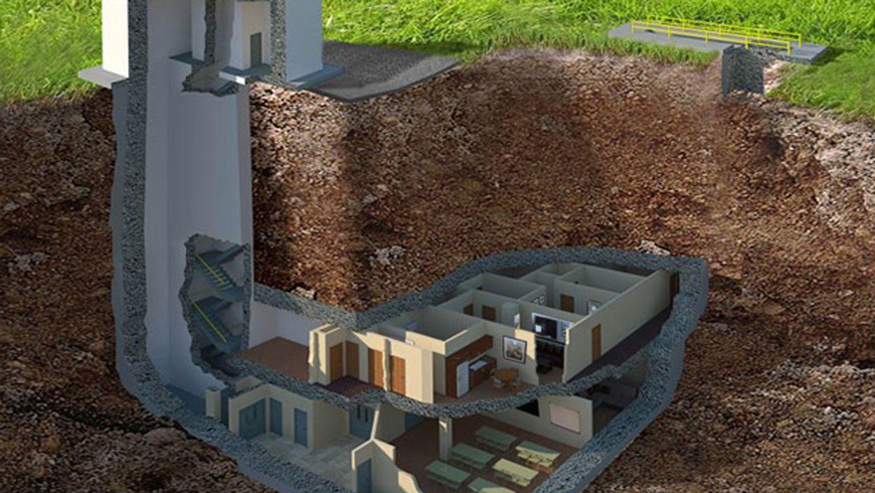 Afbeelding van Binnenkijken: deze bunker van 1,6 miljoen euro kan een kernaanval weerstaan