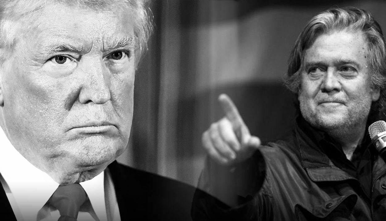 Afbeelding van Fire and Fury: Steve Bannon opent beerput in het Witte Huis