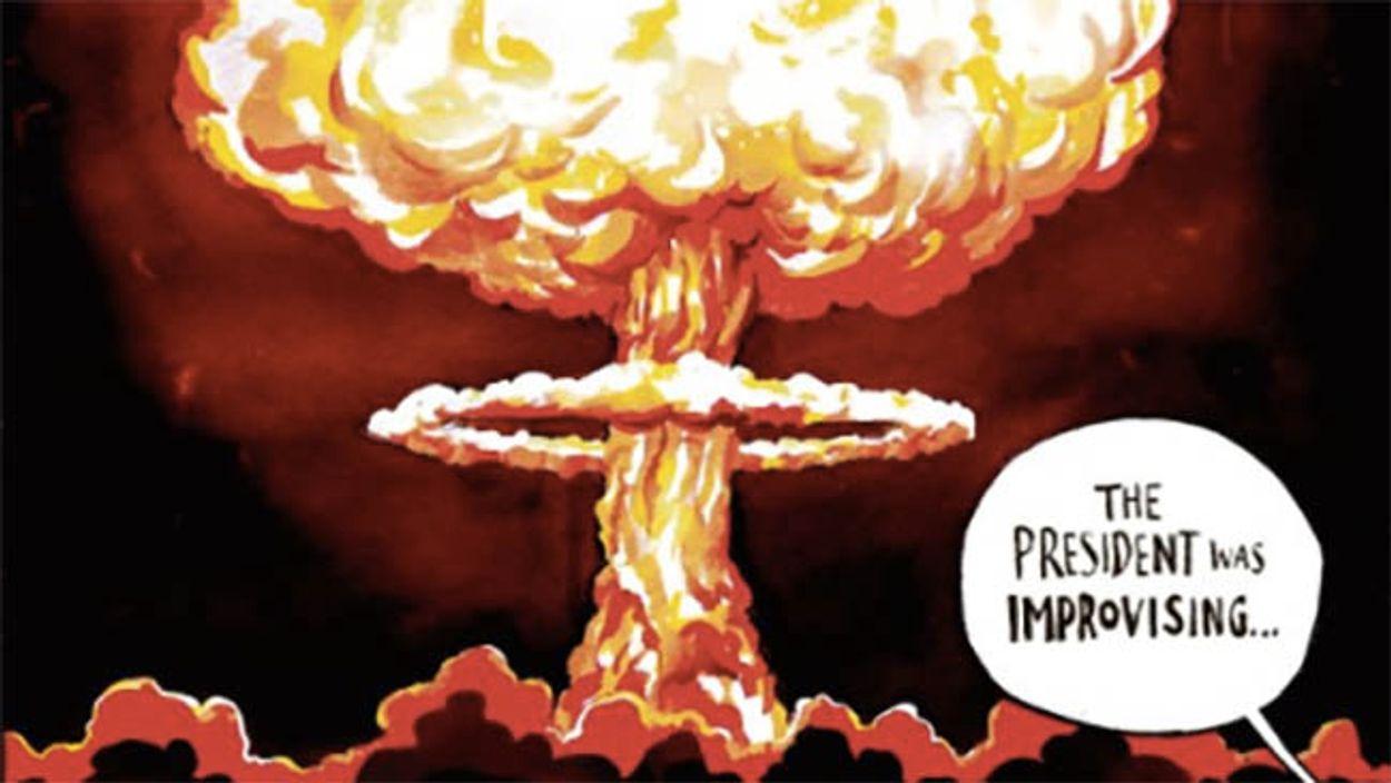 Afbeelding van De Korea-crisis door de ogen van cartoonisten
