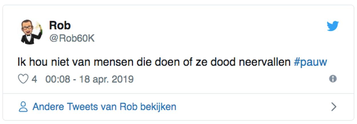 Stefano Keizers tweet 1