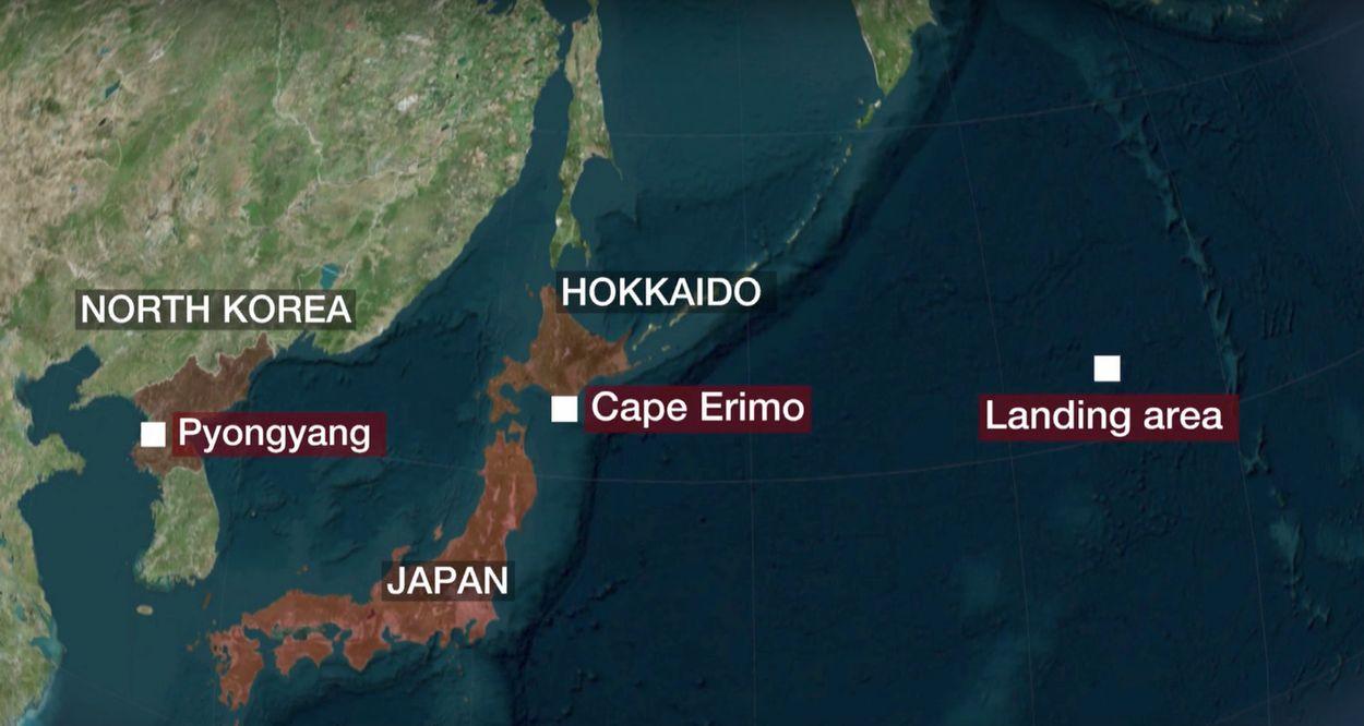 raket noord-korea over japan