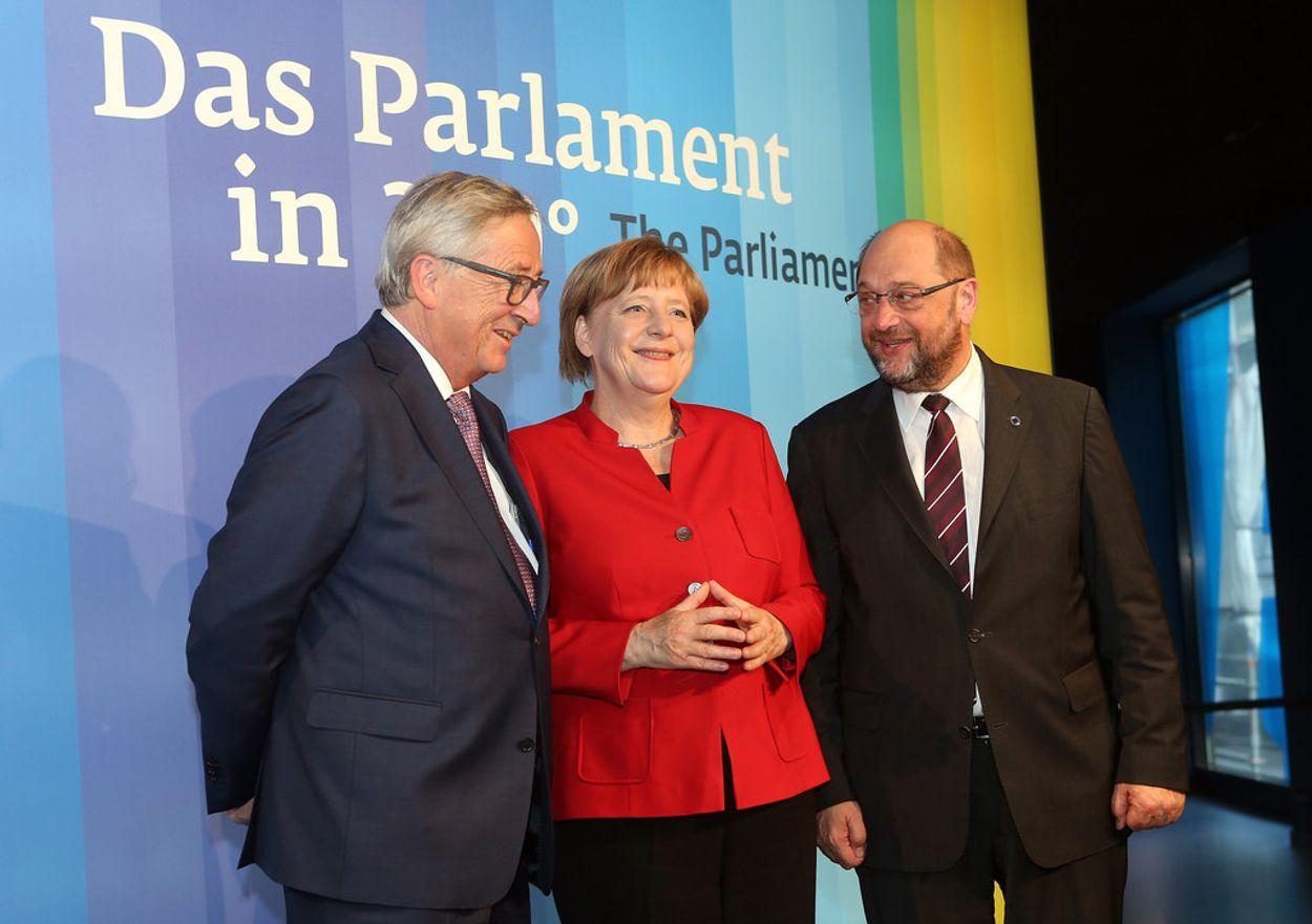 Afbeelding van Merkel lijkt weer de grootste te worden, alleen niet groot genoeg