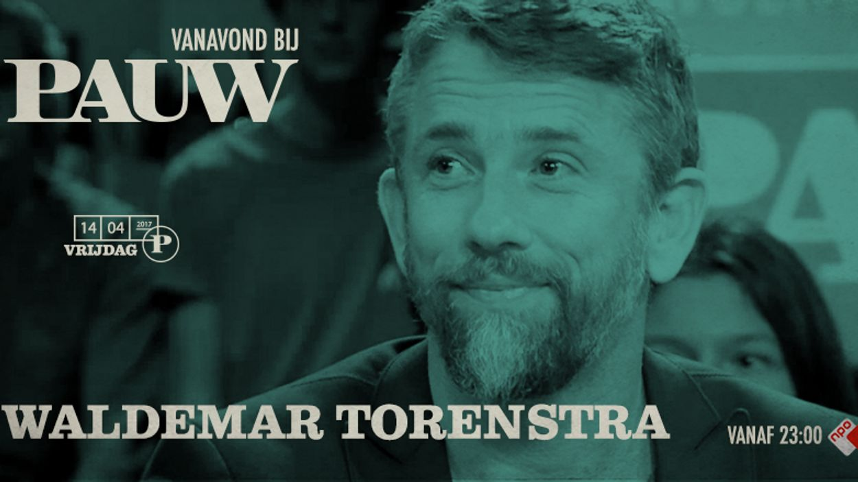 Waldemar Torenstra vrijdag 14 april 2017