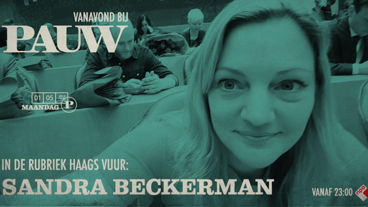 Haags vuur: Sandra Beckerman 1 mei 2017