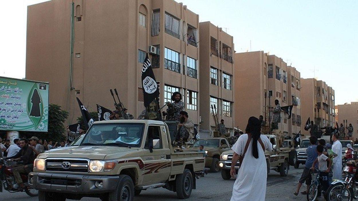 Afbeelding van Terreurorganisatie IS verdreven uit Raqqa