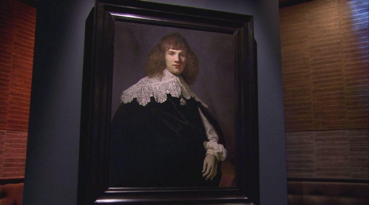 Afbeelding van Jan Six onthult onbekend schilderij van Rembrandt