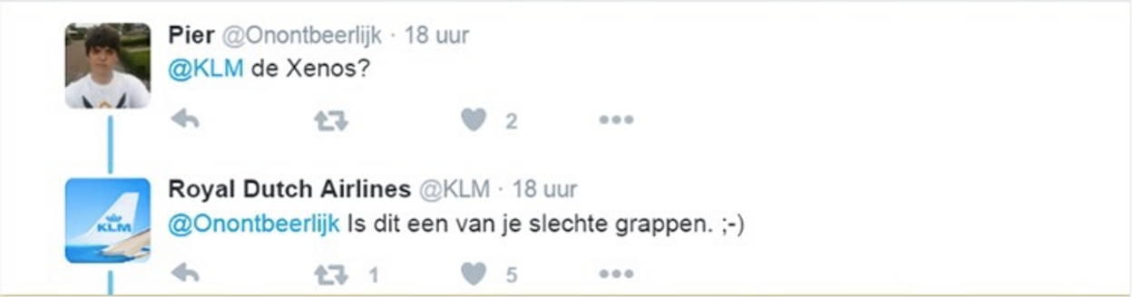 KLM deel 2