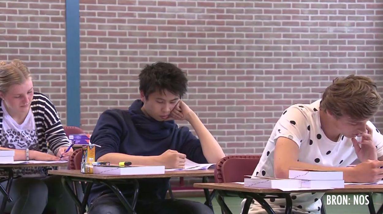 Afbeelding van Oud-Hollands klagen over het Nederlandsexamen