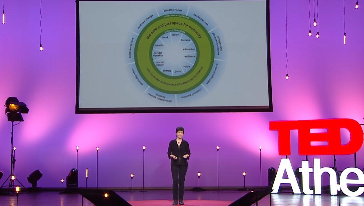 Afbeelding van De toekomst van de economie heeft de vorm van een 'donut'