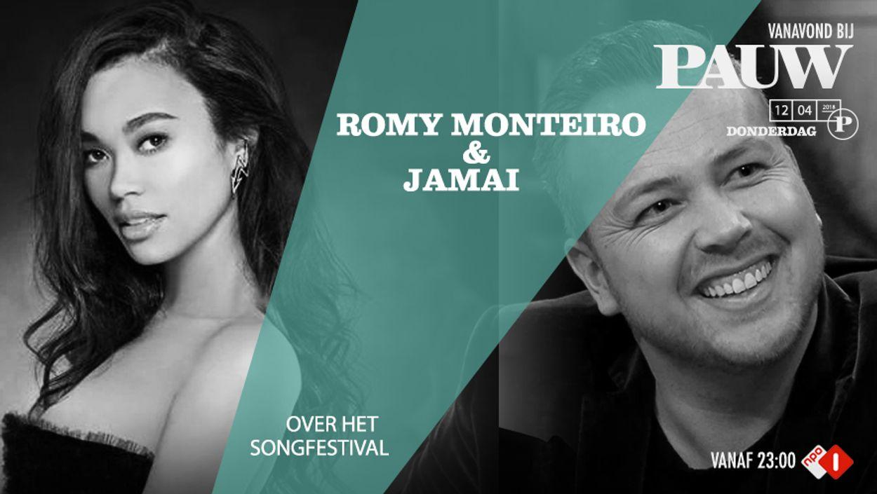 Plaat Romy en Jamai