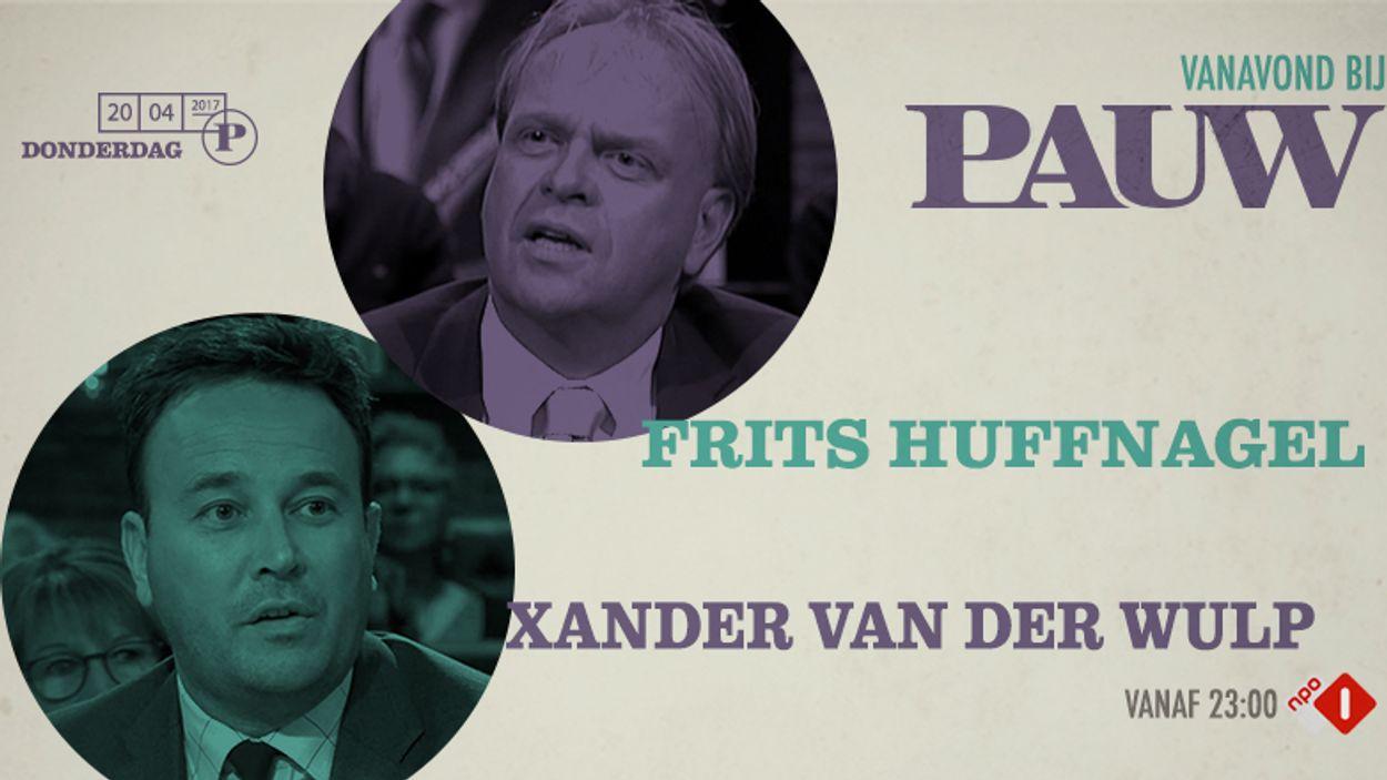 Xander van der Wulp en Frits Huffnagel 20 april 2017