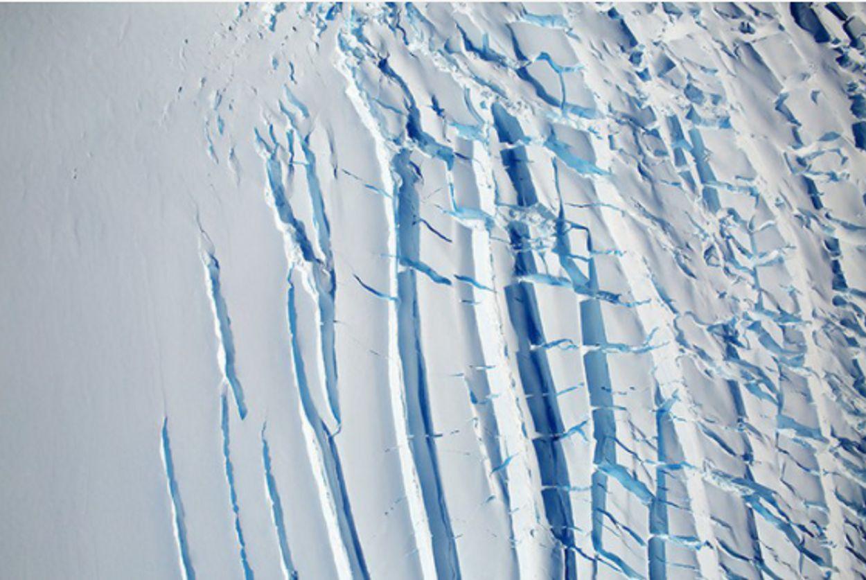 smeltende ijskap antarctica