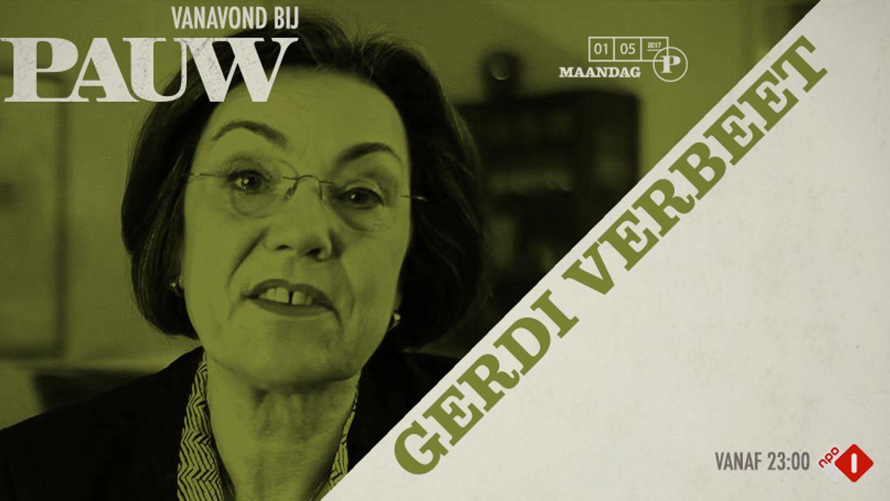 Gerdi Verbeet 1 mei 2017