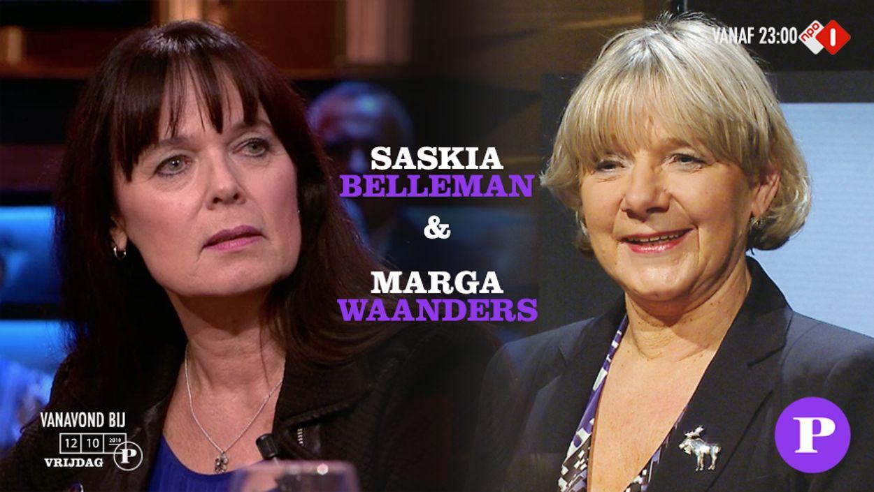 Saskia en Marga