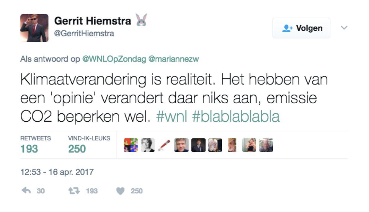 Tweet 1 Gerrit