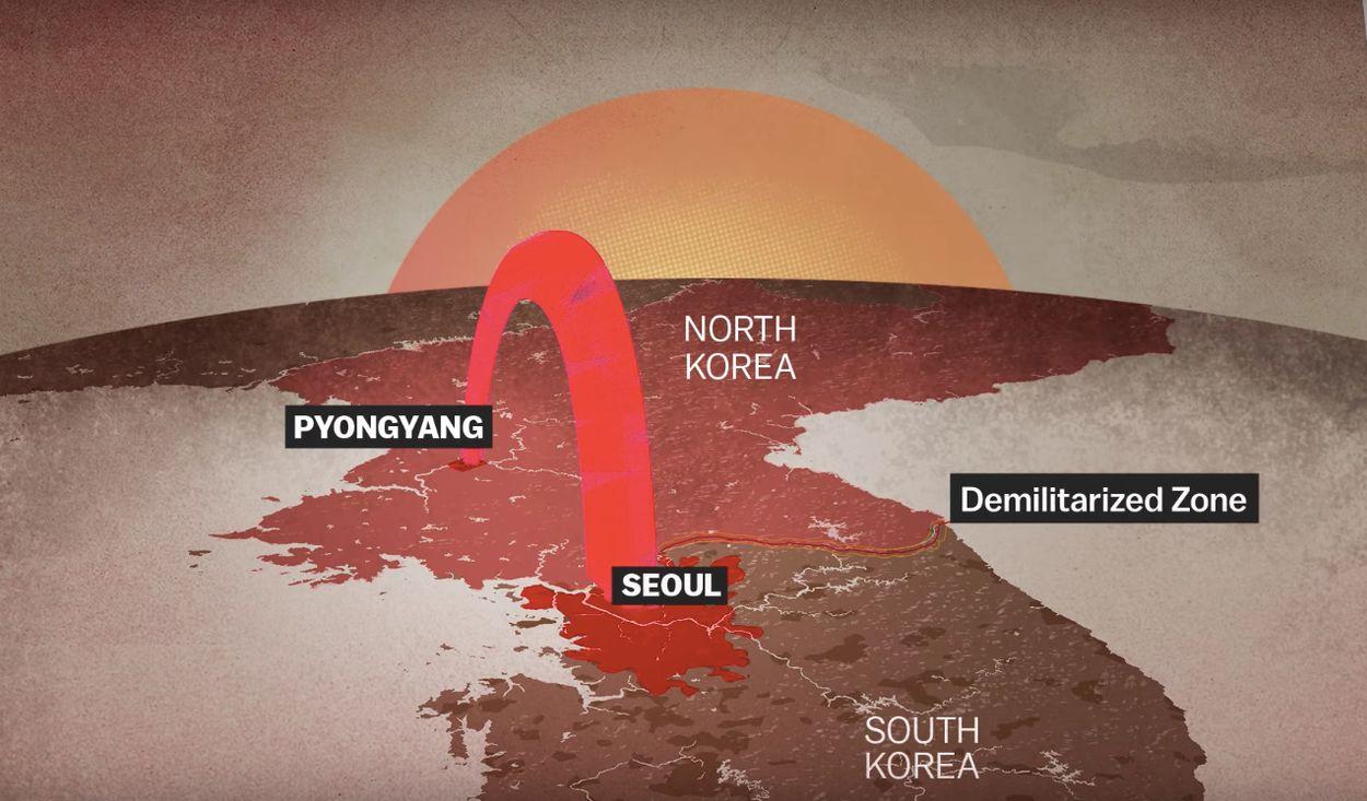 Afbeelding van Wat als er daadwerkelijk een oorlog komt in Korea?