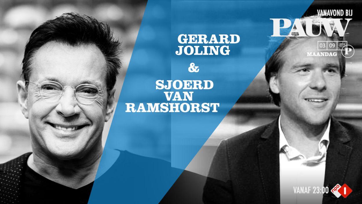 Sjoerd van Ramshorst en Gerard Joling