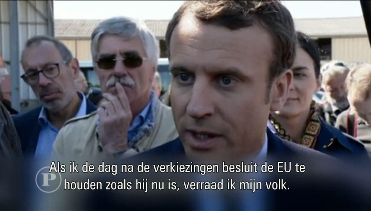 Macron in het Engels