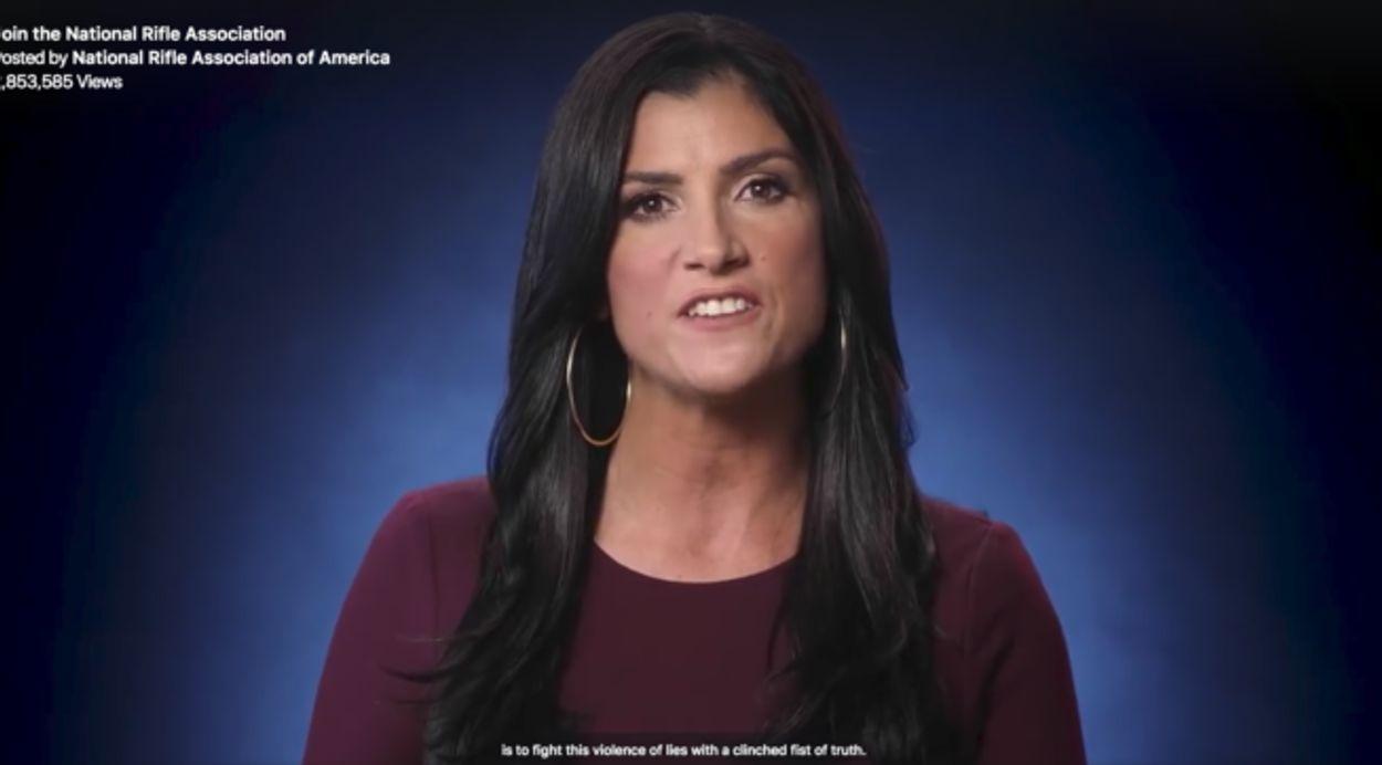 Afbeelding van Oorlogsretoriek in wij tegen zij-spotje van Amerikaanse 'National Rifle Association'