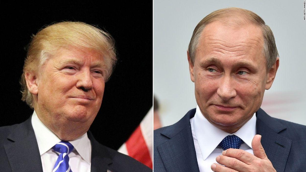 Afbeelding van Poetin en Trump gaan samenwerken in Syrië