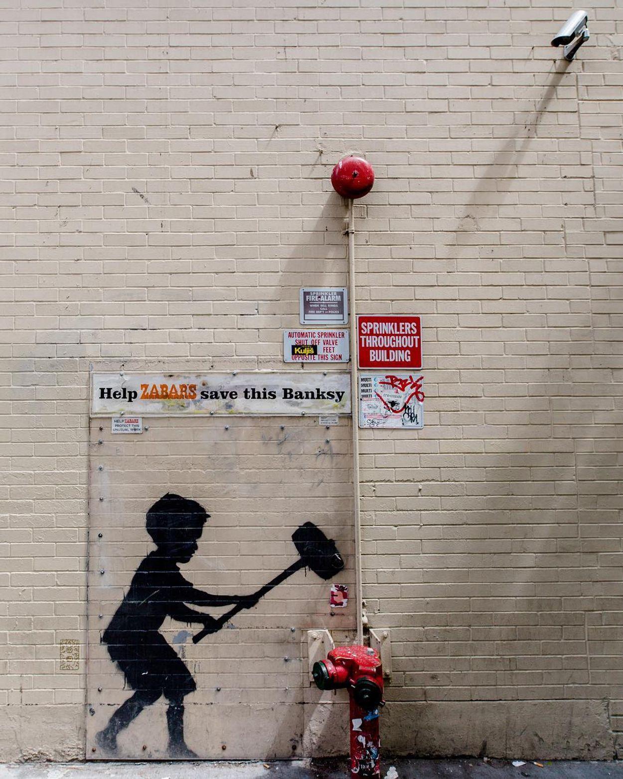 NY banksy