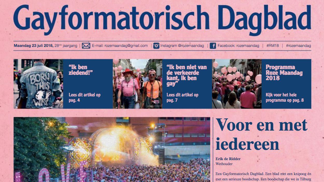 Afbeelding van Reformatorisch Dagblad werkt mee aan Gayformatorisch Dagblad