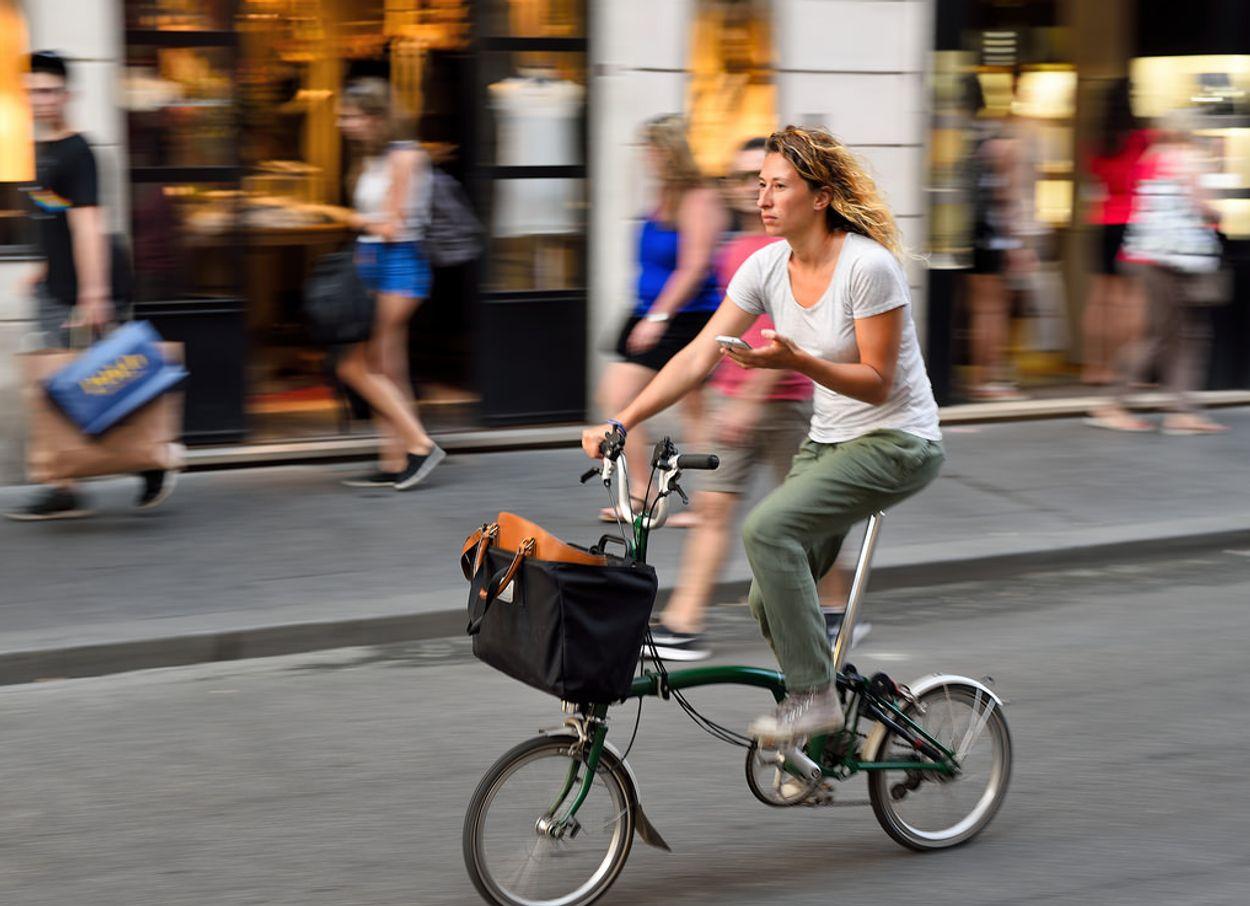 Afbeelding van CDA wil appen op de fiets aanpakken