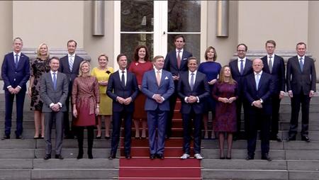 Afbeelding van Het kabinet Rutte-III is beëdigd