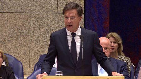 Afbeelding van Rutte wil geen extra geld geven aan de EU