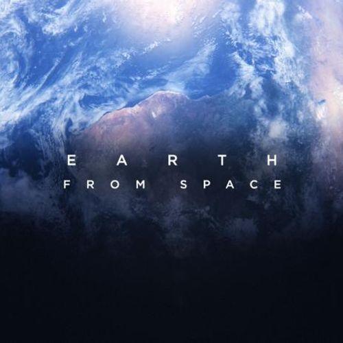 Afbeelding van De aarde gezien vanuit de ruimte