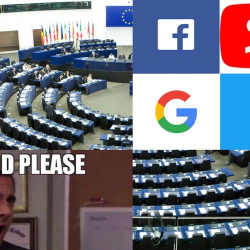 Afbeelding van Europees parlement neemt omstreden auteursrechtenwet aan