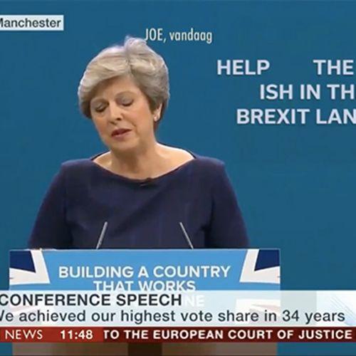 Afbeelding van Wat je waarschijnlijk niét zag tijdens de speech van May