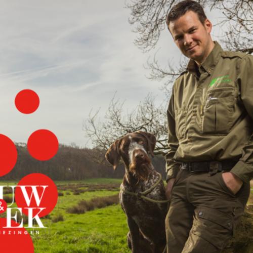 Afbeelding van Erik de Jonge is boswachter in 'het Wilde Westen van Brabant'