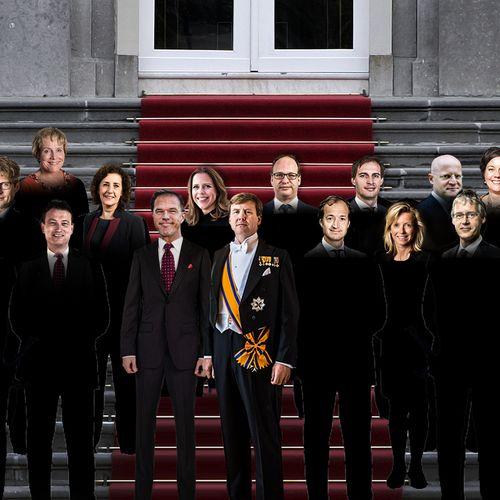 Afbeelding van Rutte III krijgt duo-ministers, naamswijzigingen en nieuwe mailadressen (à een paar miljoen euro)