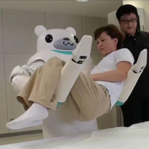 Afbeelding van In Japan lossen ze het personeelstekort in de ouderenzorg op met robots