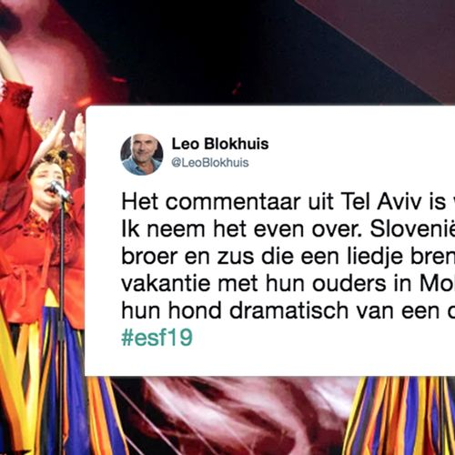 Afbeelding van De meest briljante tweets over Songfestival 2019 - 1e halve finale