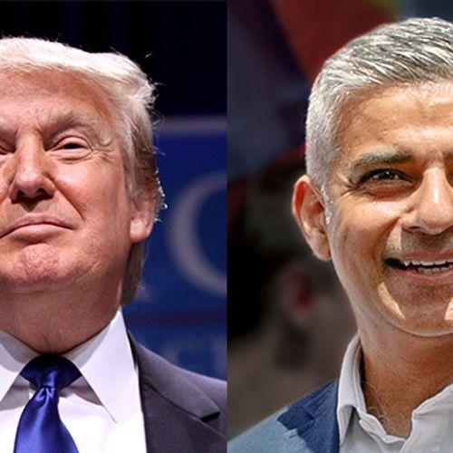 Afbeelding van Burgemeester Khan vs. president Trump: wat voorafging