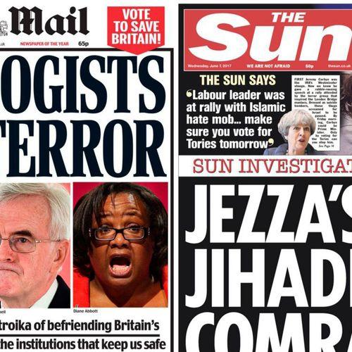 Afbeelding van Vandaag zijn de Britse verkiezingen: de kranten trekken ten strijde